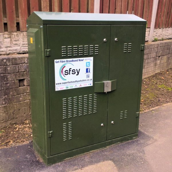 south yorkshire cabinet broadband bt openreach