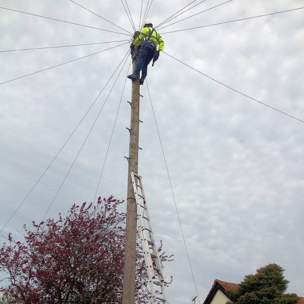 telegraph pole high engineer
