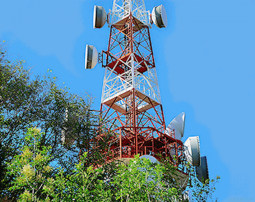 wireless mobile mast