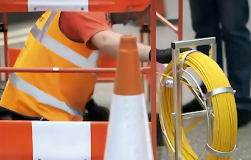 fibre optic broadband cable deployment HYPEROPTIC ONLY