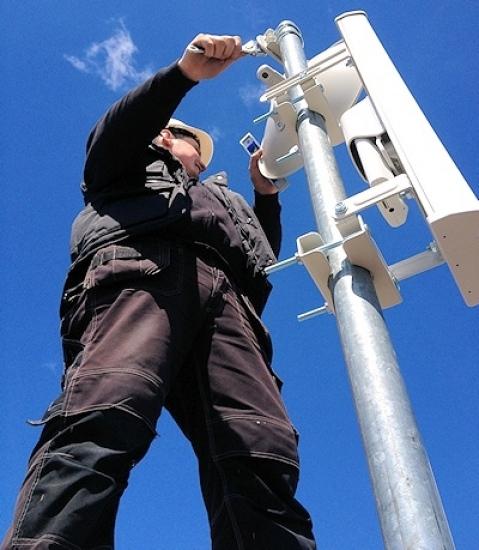 ab internet wireless broadband mast