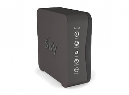 Updating firmware on sky router