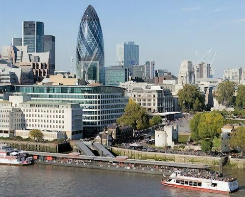 City of london square mile united kingdom