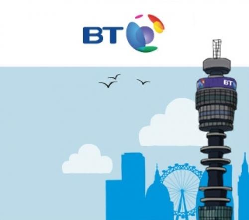 bt uk mobile tower logo