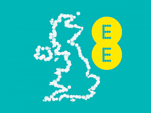 ee uk logo map