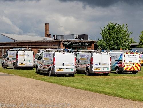 openreach bt vans everywhere