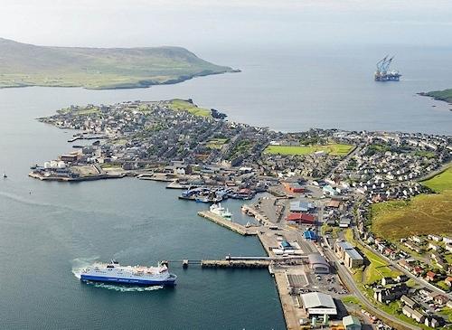 shetland lerwick harbour