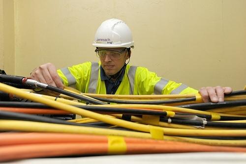 major capacity fibre optic cables