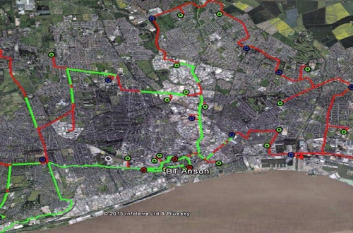 Map Of Uk Hull.Map Of Cityfibre S Gigabit Fttp Fibre Optic Network In Hull Uk