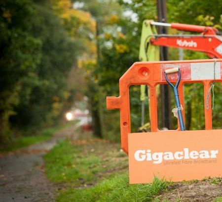 gigaclear rural path fibre optic broadband