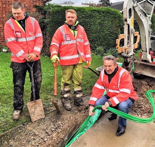 virgin media fibre optic laying with tom mockridge