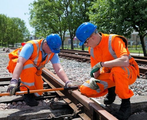 trains network rail engineers