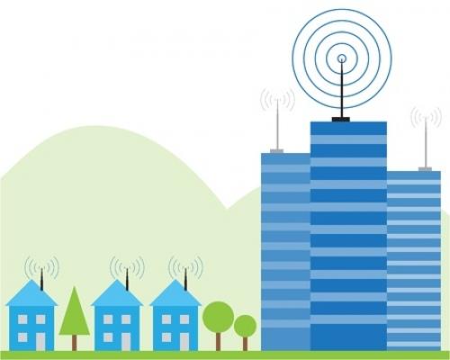 wireless broadband radio spectrum signal