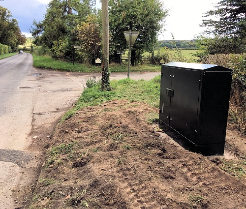 howe road fttc cabinet