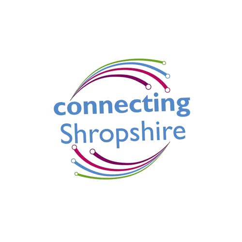 Connecting Shropshire UK Logo