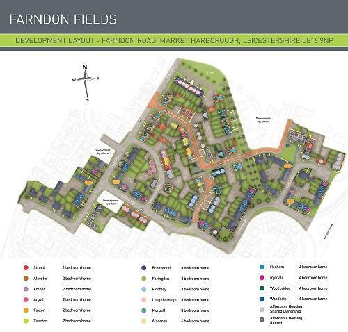 farndon fields development map