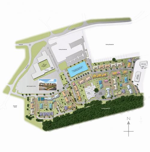 bellway homes at qeii development