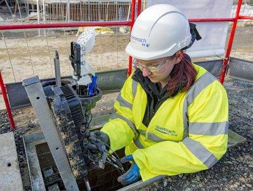 fttp new build fibre optic distribution point openreach