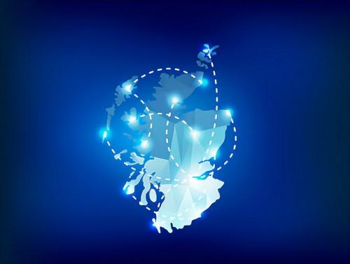 digital scotland fibre optic map