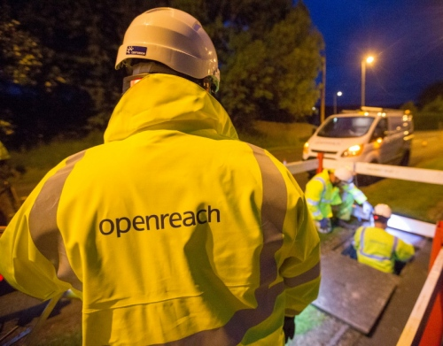 openreach 2017 engineer jacket
