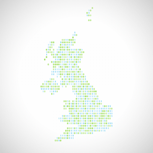 united kingdom binary map broadband telecoms