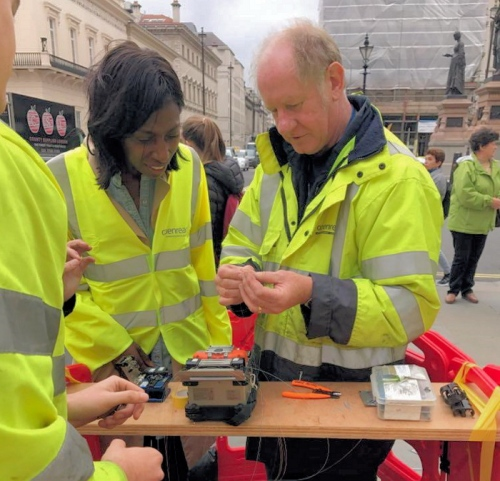 sharon white openreach fibre optic broadband fttp splice