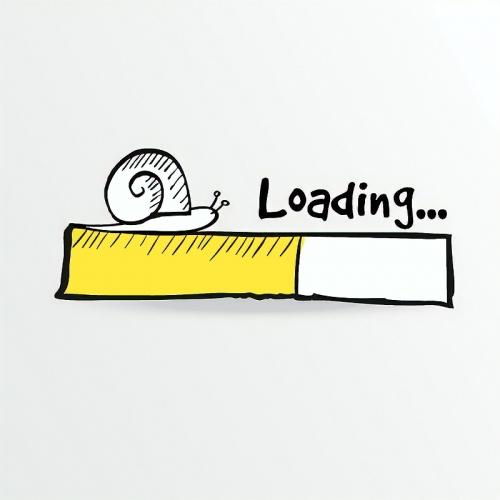 slow internet loading