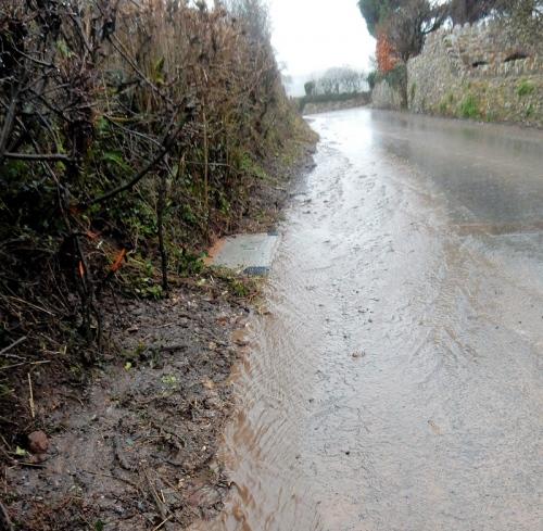 gigaclear devon road water flow
