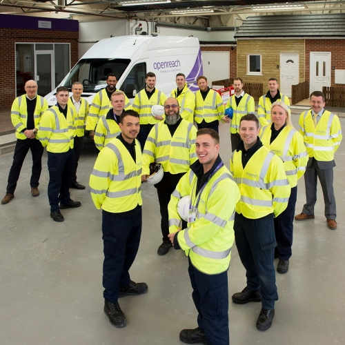 openreach uk engineering team