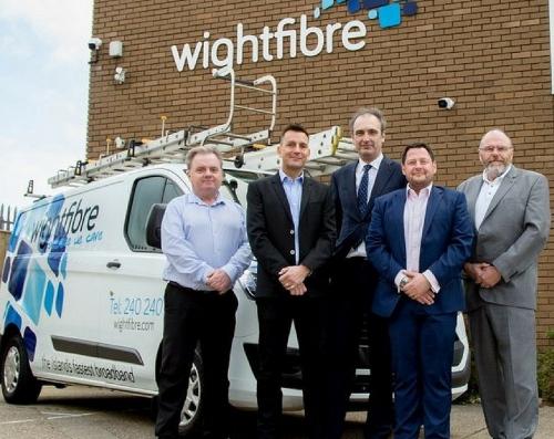 wightfibre isle of wight broadband team
