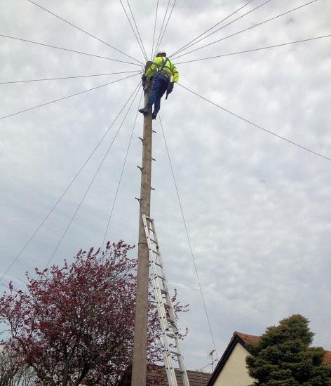 telegraph pole high engineer