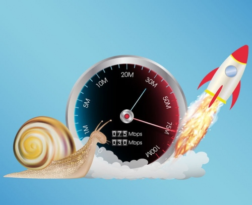 broadband speed rocket and snail uk isp