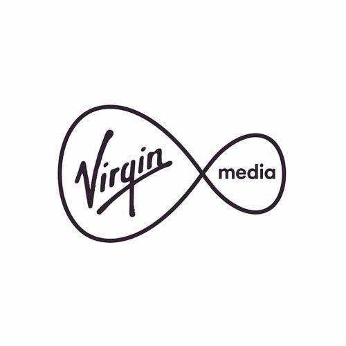 virgin media black logo