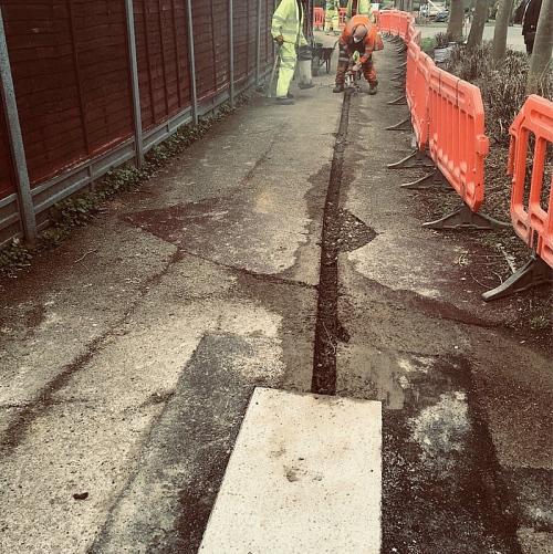 cityfibre mk street trench