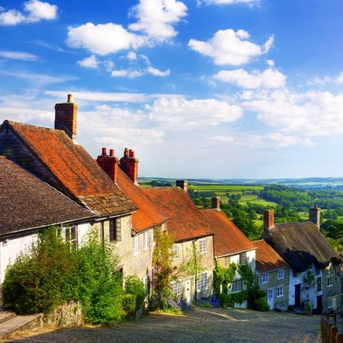 rural british village uk broadband