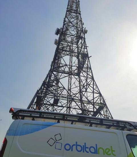orbitalnet vfast broadband mast