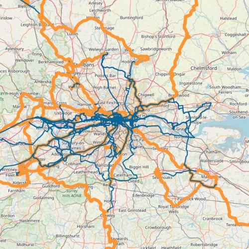 zayo london uk fibre optic network map 2018