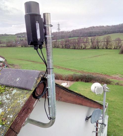 broadway partners 60ghz mesh wireless