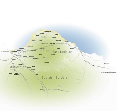 lothian broadband map