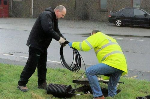 shetland telecom fibre optic cable line uk