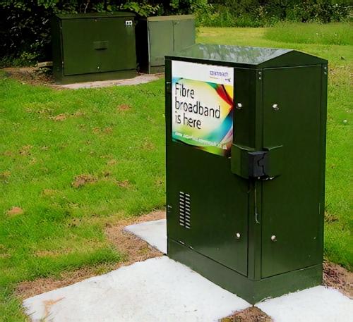 bt fttc fttp fibre optic broadband cabinet uk
