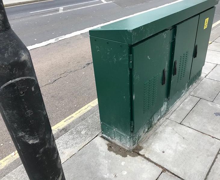 cityfibre arqiva street cabinet fibre optic 5g london