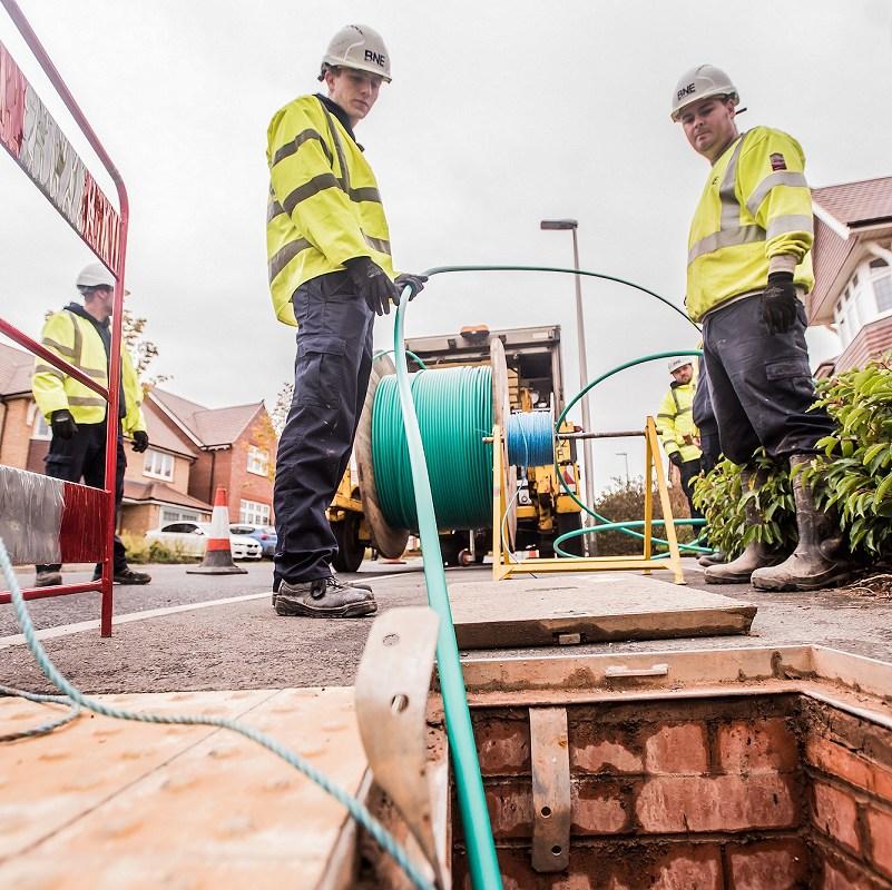 jurassic fibre manhole ftth