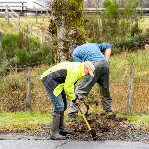 balquhidder rural fibre optic dig