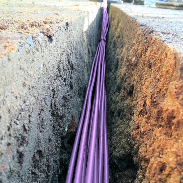 cityfibre trench optical fibre cables