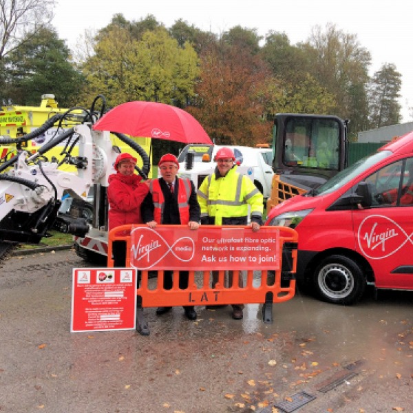 virgin media project lightning rollout wrexham