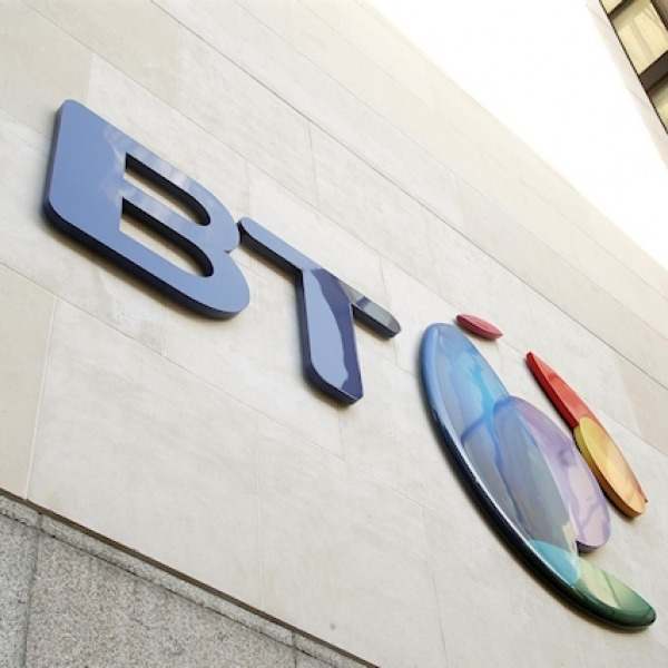 BT HQ UK Building Logo