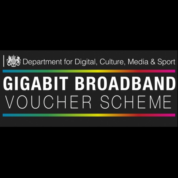 gigabit broadband voucher scheme uk logo