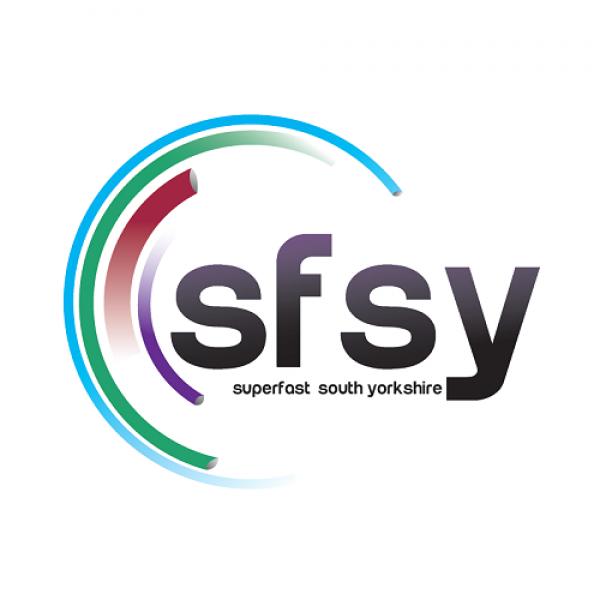 Superfast South Yorkshire UK Logo