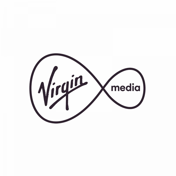virgin media black logo